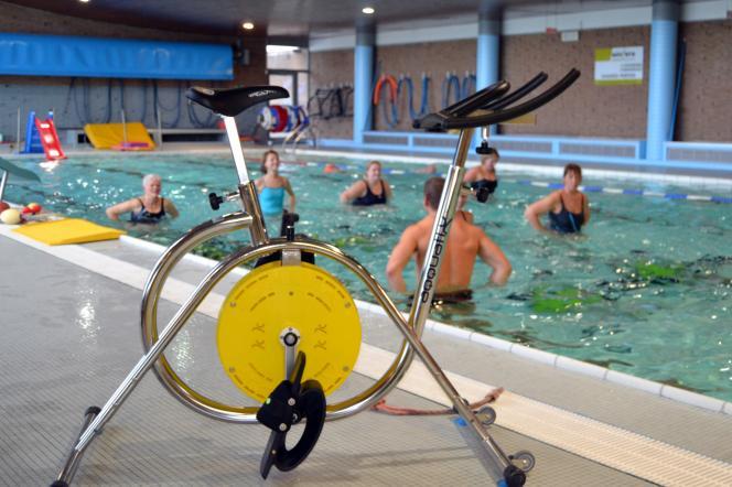 Aquabike - piscine de Haccourt