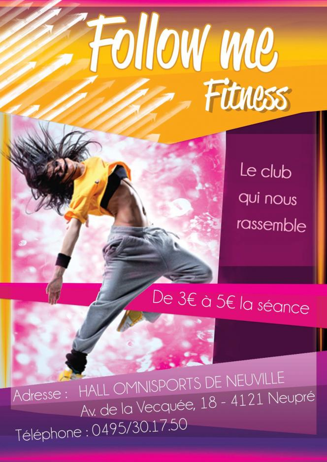 Infos sur la page Facebook ' Follow Me Fitness '